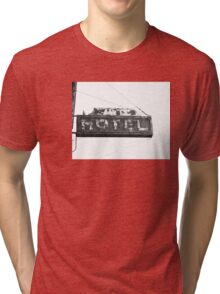 Hotel Sign Tri-blend T-Shirt