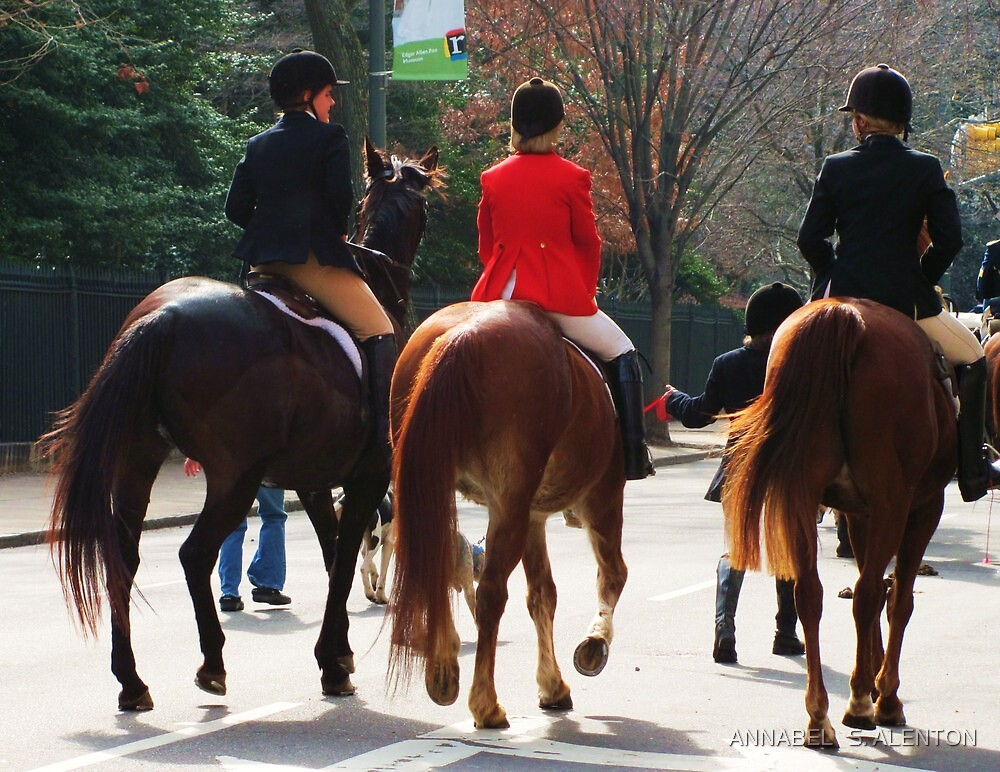 ladies and horses by ANNABEL   S. ALENTON