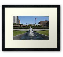 Water Dancing Framed Print