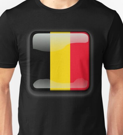 Belgium Flag Icon Unisex T-Shirt
