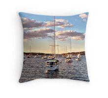 Sea Belle Throw Pillow