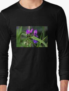 Fuchsia Flowers Long Sleeve T-Shirt