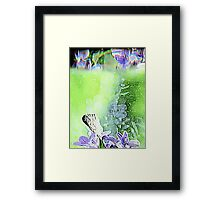 Floral Reflections (Horizontal) Framed Print