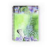 Floral Reflections (Horizontal) Spiral Notebook