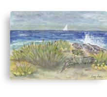 Beach In Florida  Canvas Print
