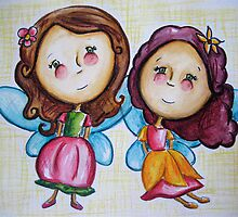 Little Flower Fairies by Rosie Harriott