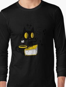 Books and Cats and Tea Long Sleeve T-Shirt