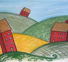 Three Little Houses by Rosie Harriott