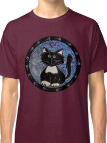 Black and White Tuxedo Kitty Classic T-Shirt