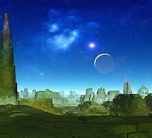 Ruins of Kal Tarai by AlienVisitor