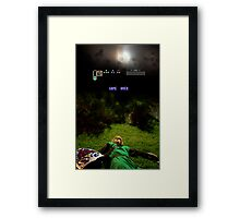 Link - Game Over Framed Print