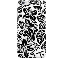 Monochrome Garden iPhone Case/Skin