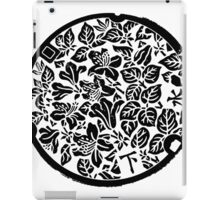 Monochrome Garden iPad Case/Skin