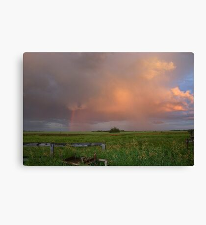Alberta Skies Canvas Print