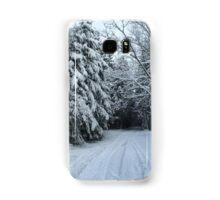 Winter scene Samsung Galaxy Case/Skin