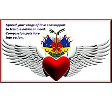 Haiti In Our Heart Photographic Print