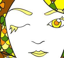 Goddess 8 of Book 2 Sticker