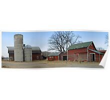 Old Farmstead in Minnesota Poster