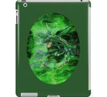 Green Whirlwind Rayquaza iPad Case/Skin