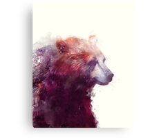 Bear // Calm Metal Print