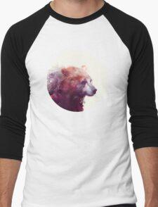 Bear // Calm Men's Baseball ¾ T-Shirt