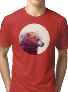 Bear // Calm Tri-blend T-Shirt
