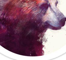Bear // Calm Sticker
