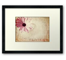 ...And Memories Came Unexpected... Framed Print