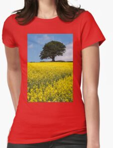 Sunshine Growing At The Roots Of A Tree Womens Fitted T-Shirt