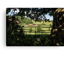 As I Walked Out One Midsummer Morning Canvas Print