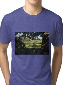 As I Walked Out One Midsummer Morning Tri-blend T-Shirt