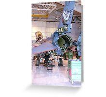 Maintenance, F16 Fighting Falcon Greeting Card