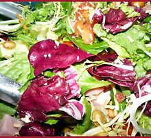 Fresh Tossed Salad by Bea Godbee