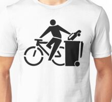 Ride A Bicycle, Recycle The Car Unisex T-Shirt