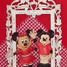 Framed Mickey & Minnie   by Betty E Duncan © Blue Mountain Blessings Photography