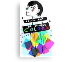 You're Full Of Unique COLORS Metal Print