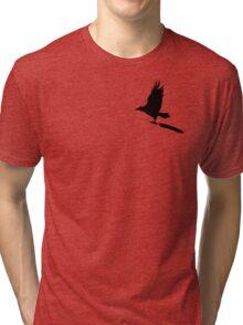 Anti-Writer's Block Raven Tri-blend T-Shirt