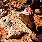 Fossilised Ripples by Paul Moore