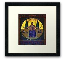 peace goddess Framed Print