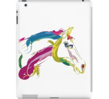 Cool t-shirt, horse Lovely in colours iPad Case/Skin