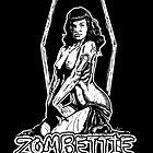Bettie Page (Whoa Zombettie ram a lam) by ZugArt