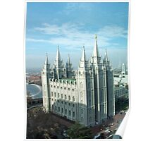 Salt Lake Temple ~ Salt Lake City, Utah USA Poster