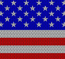 Metal Effect Stars and Stripes by Steve Crompton