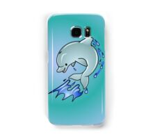 Leaping Dolphin Samsung Galaxy Case/Skin