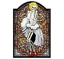 Stained Glass Marilyn Photographic Print