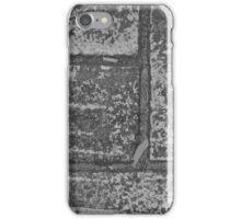black and white bricks iPhone Case/Skin