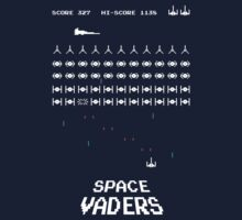 Space Vaders Kids Clothes