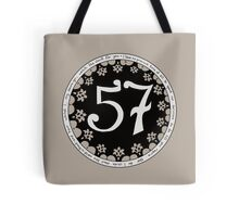 Black 57 Tote Bag