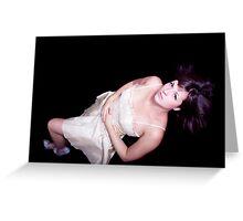 Glamour Girl Greeting Card