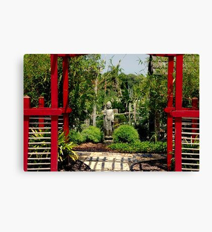 Meditation Garden Canvas Print